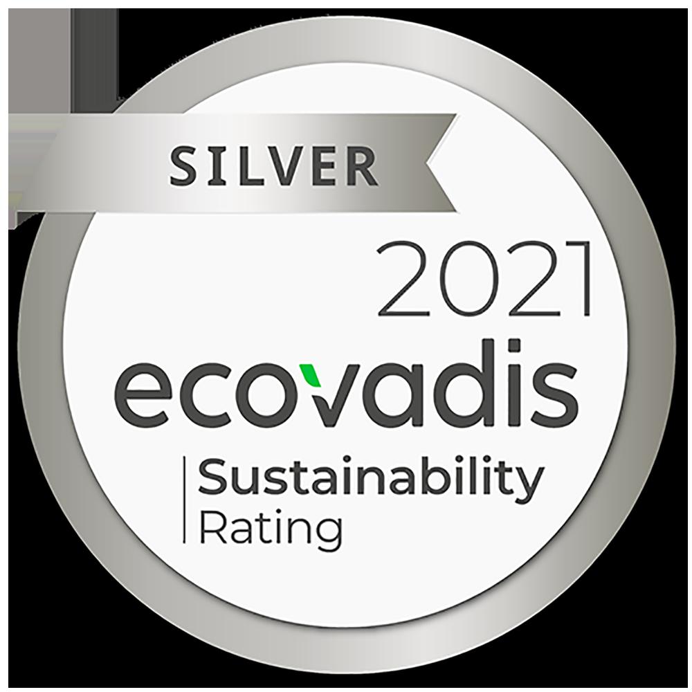 Distinção ECOVADIS 2021